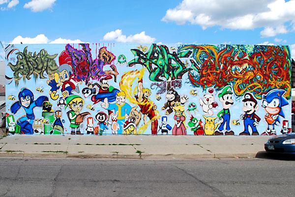 Alameda Wall in Denver, CO