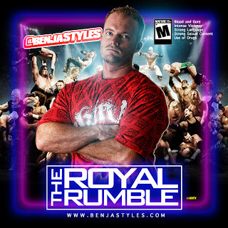 benja styles royal rumble cover
