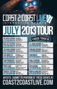 Coast2Coast Tour Dates