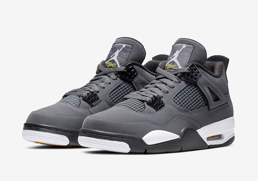 Official Images + New Release Date: Air Jordan 4 Cool Grey