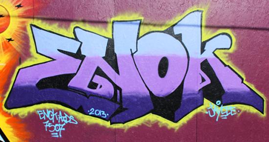 Denver graffiti battle production and alley burner!