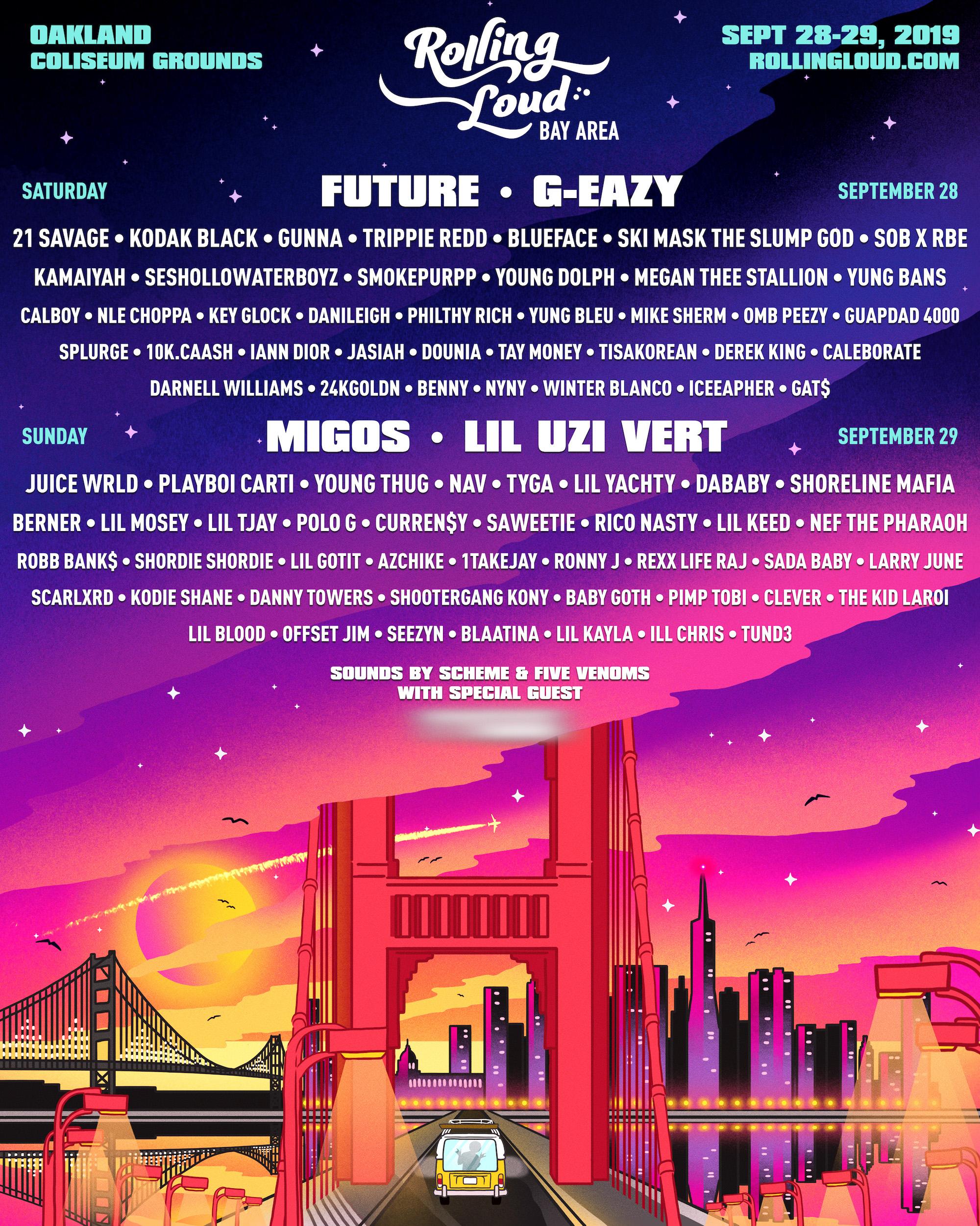 Rolling Loud Bay Area 2019